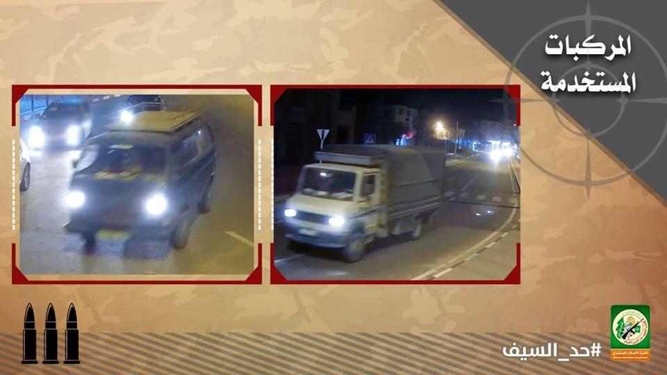 القسام ينشر تفاصيل وصورا جديدة لعملية الاحتلال بخانيونس