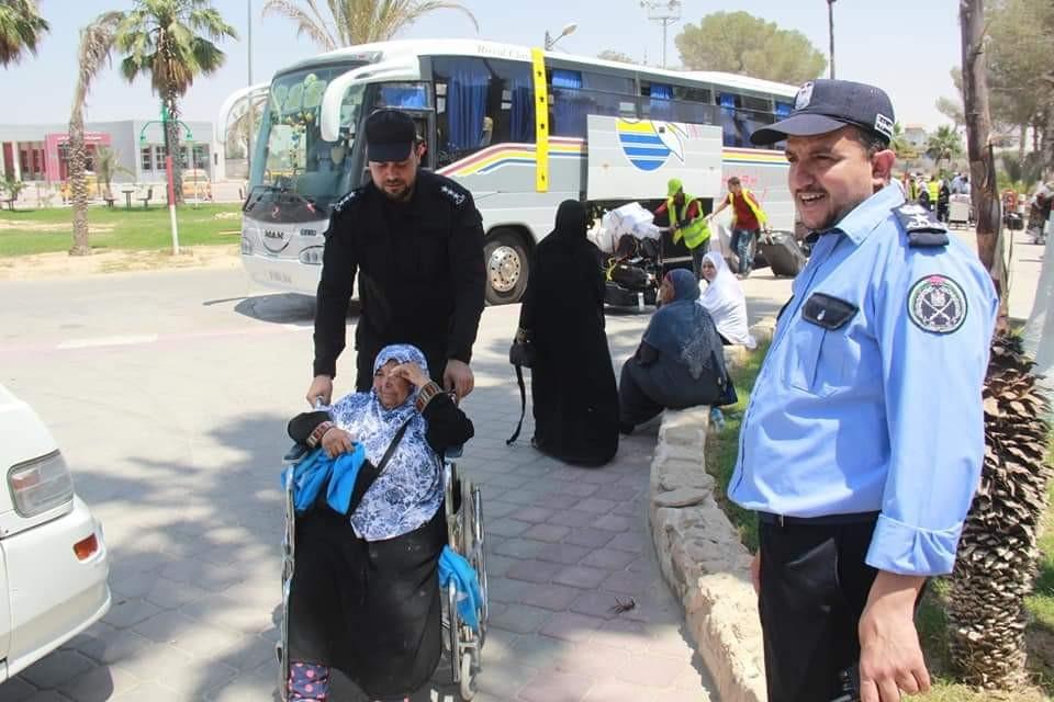 وصول فوج من المعتمرين إلى غزة اليوم