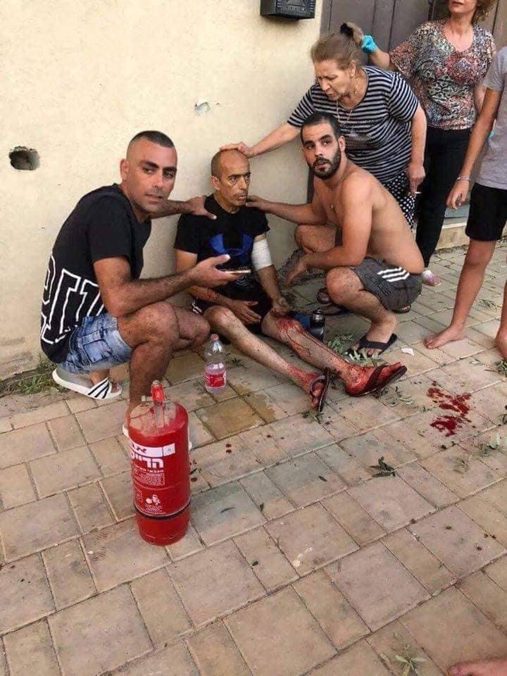 إصابات وأضرار بسديروت إثر رشقات صاروخيةمن المقاومة