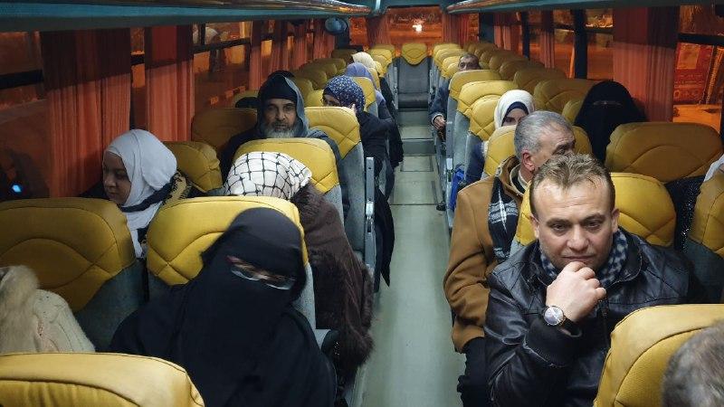 مغادرة الفوج الأول من معتمري قطاع غزة إلى الديار الحجازية