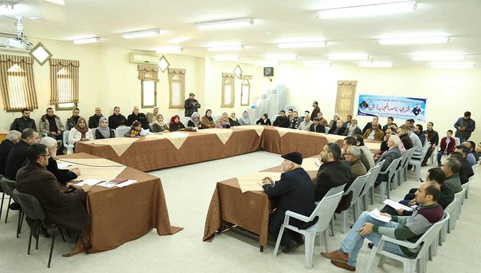 بلدية خان يونس تكرم الفائزين بمسابقتي ميدان المحافظة وساحة القلعة