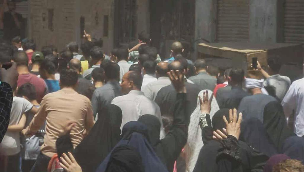 رغم الحصار الأمني.. وداع مهيب لمرسي في مسقط رأسه بالشرقية