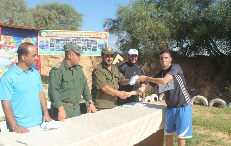 ماراثون رياضي للكتيبة الخامسة في الأمن الوطني