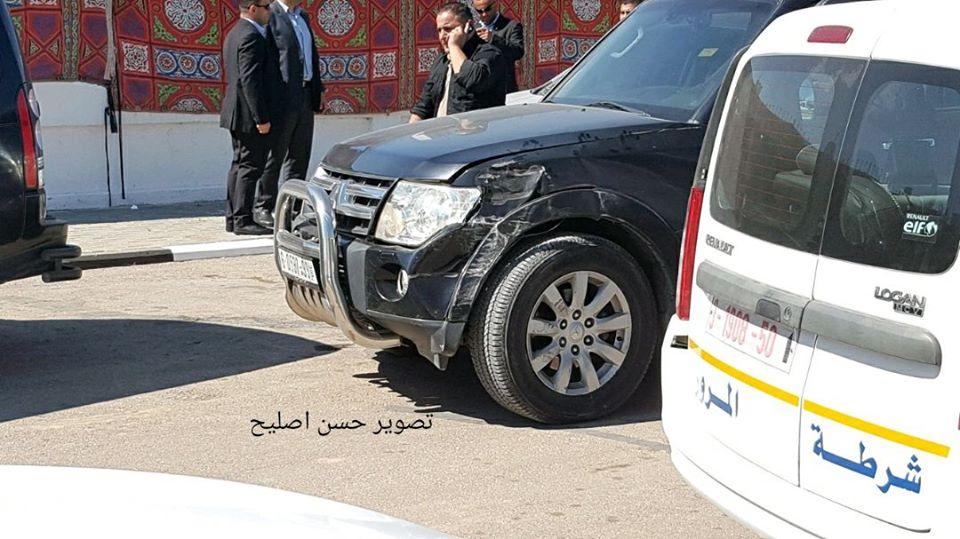 انفجار أثناء مرور موكب الحمد الله شمال قطاع غزة