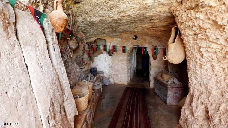 كهوف ليبيا القديمة متعة للاستجمام في نهاية الأسبوع