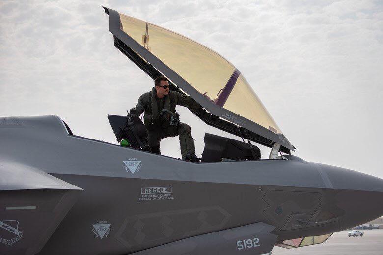 تدريبات أمريكية بريطانية وإسرائيلية لطائرة F35