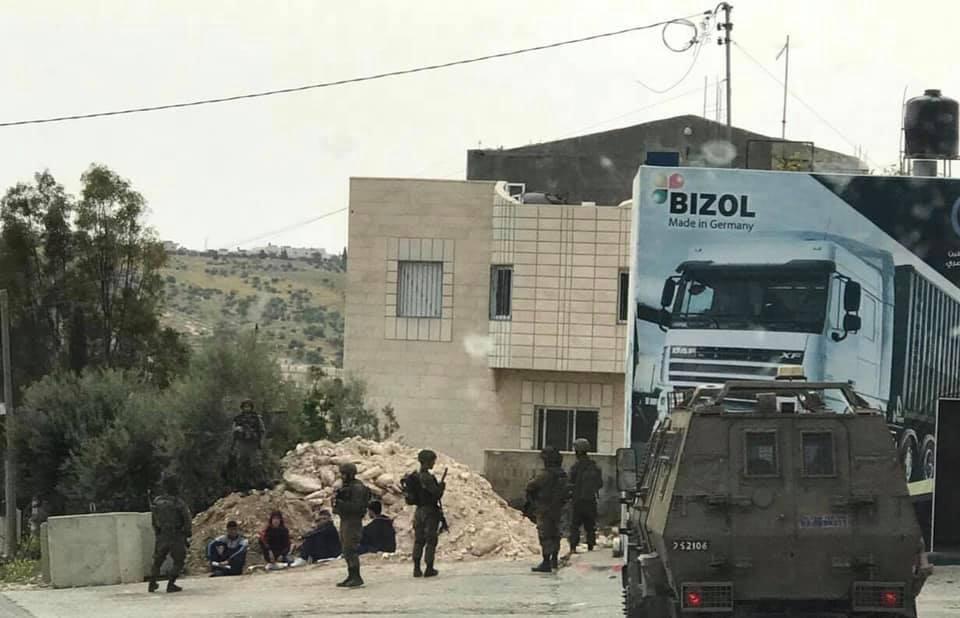 الاحتلال يدهس سيدة ويعتقل عددًا من الشبان في بيت لحم