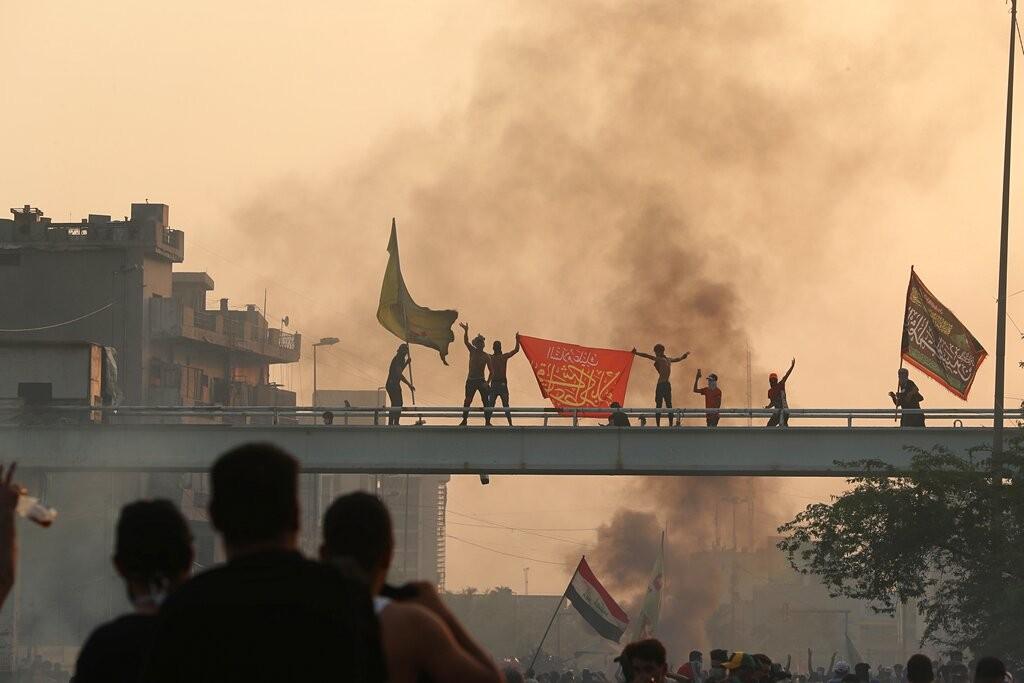 اتساع رقعة التظاهرات في العراق وتسعة قتلى خلال 24 ساعة