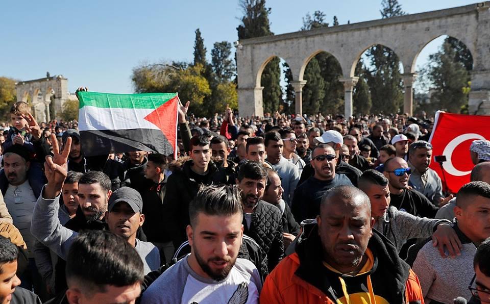 مسيرات حاشدة بالقدس والضفة وغزة نصرة للقدس