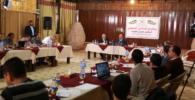 الحية: ذاهبون للقاهرة لتطبيق اتفاق القاهرة 2011