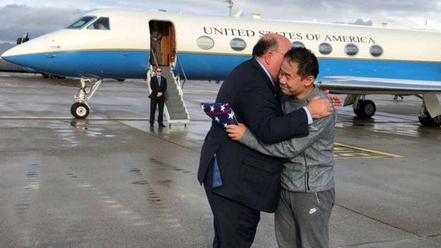 ترامب: صفقة تبادل السجناء تعني إمكانية التوصل لاتفاق بين أمريكا وإيران