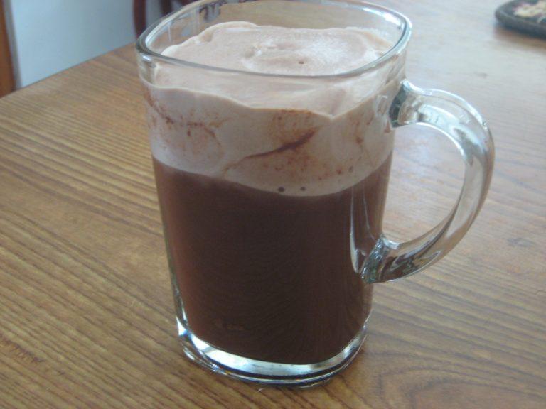 وصفة القهوة بالنوتيلا