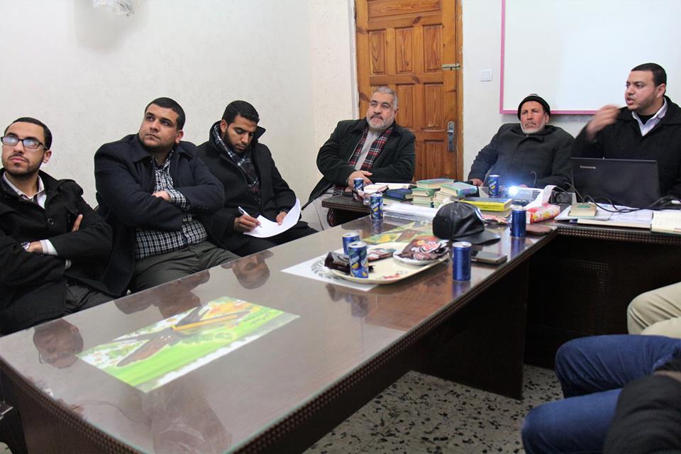 دار القرآن الكريم تناقش دائرة القراءات تقريرها السنوي