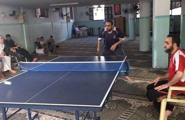 اللجنة الرياضية تختتم بطولة تنس الطاولة بالنصيرات