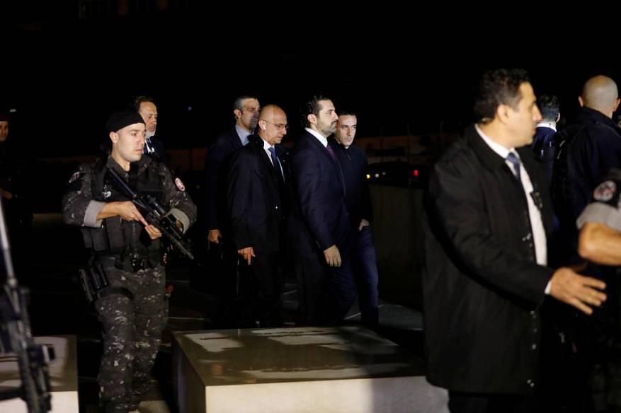 الحريري يصل بيروت بعد أكثر من أسبوعين على استقالته