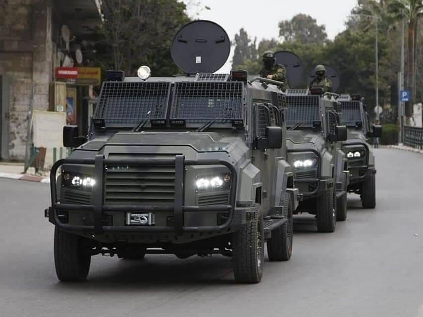الاحتلال يسمح بإدخال مركبات عسكرية مُدرعة للسلطة بالضفة