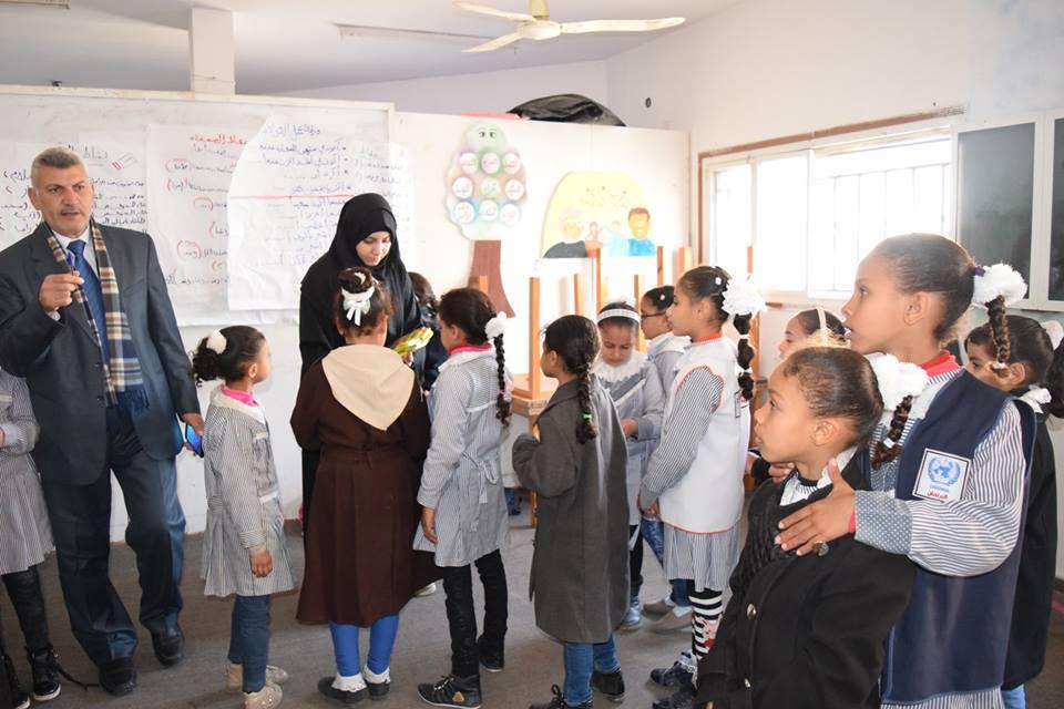 الملتقى التربوي يستقبل طلاب مدرسة دير البلح الابتدائية