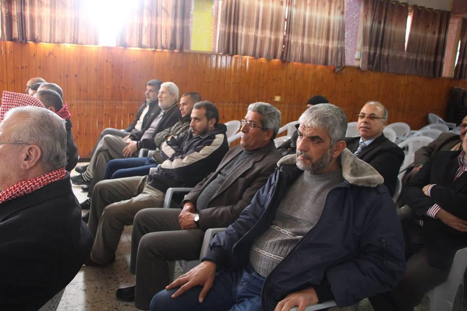 بلدية البريج تنظم اللقاء الأول للجان الأحياء