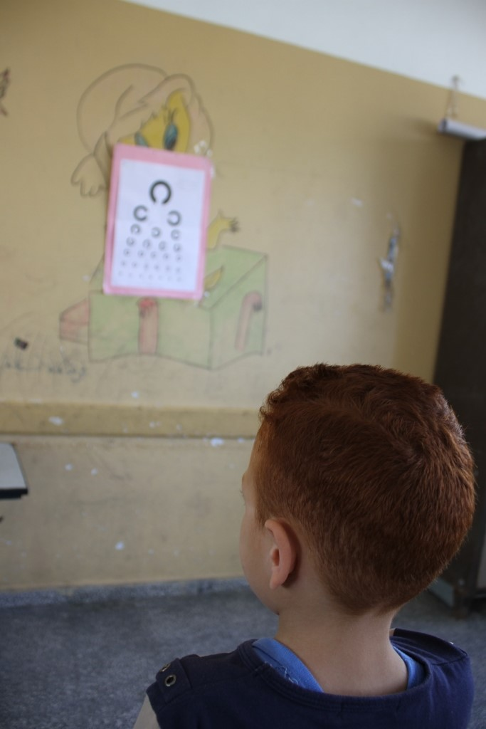 مديرية شمال غزة تشرع بإجراء فحص التقصي لطلبة الصف الأول