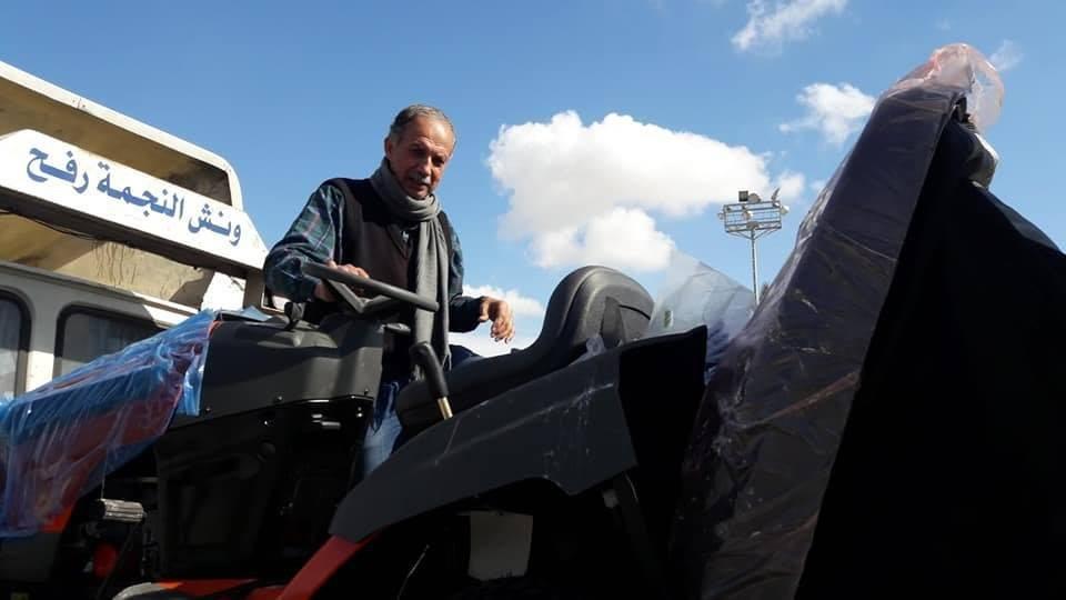 وصول معدات وكوشوك لغزة عبر معبر