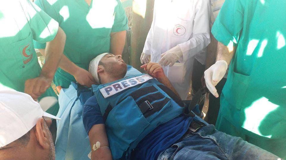 شهيدان وعشرات الإصابات باعتداء الاحتلال على المتظاهرين شرقي القطاع