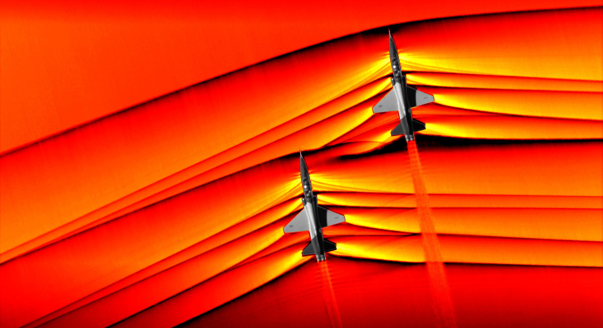 ناسا تحصل على صور لموجات الصدمة الأسرع من الصوت