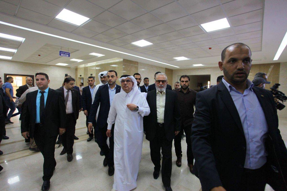 """السفير القطري يفتتح """"قصر العدل"""" في مدينة الزهراء"""