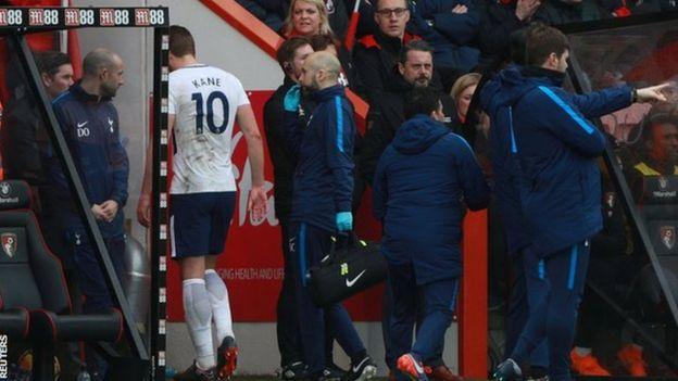 إصابة هاري كين تُقلق توتنهام ومنتخب إنجلترا