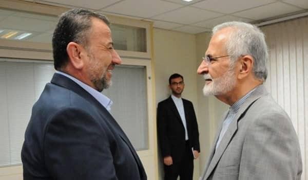 وفد حماس  يلتقي مسؤولا إيرانيا كبيرا