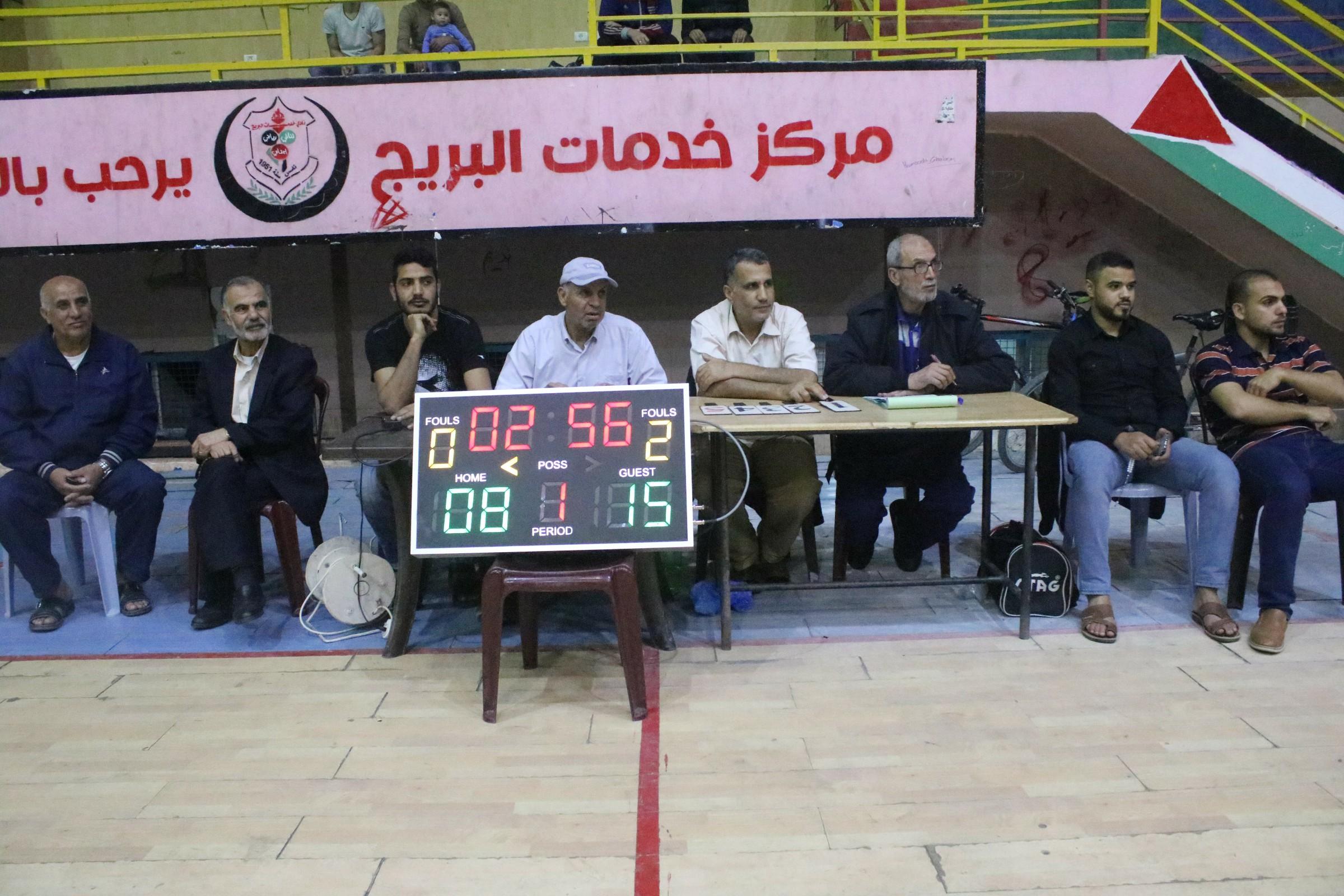 نتائج جديدة في بطولة الأسرى الرمضانية لكرة السلة