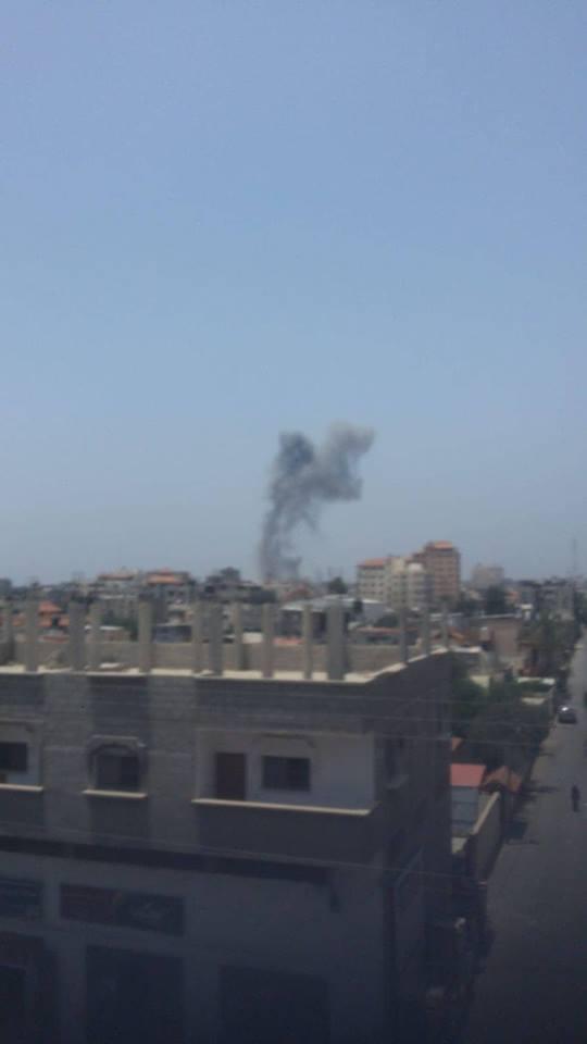 الاحتلال يجدد قصفه لمواقع المقاومة بقطاع غزة