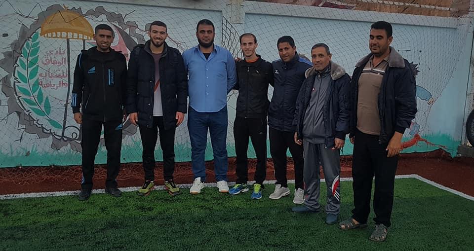 بالصور: الوفاق يضم لاعبين جدد لصفوفه