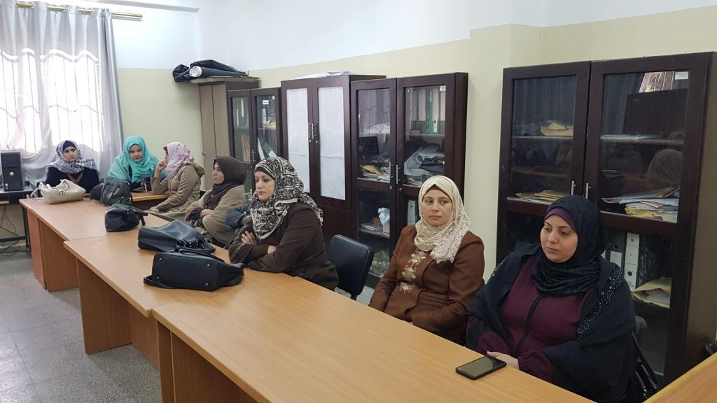 مديرية شمال غزة تعقد اجتماعاً لمعلمات التربية الرياضية