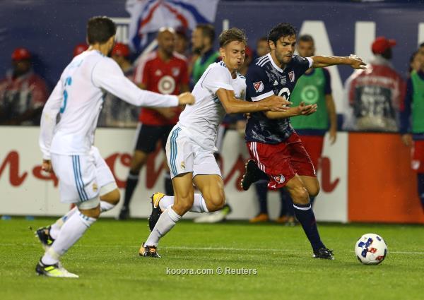 ركلات الترجيح تبتسم لريال مدريد أمام نجوم الدوري الأمريكي