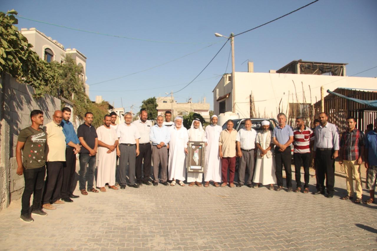 """استمرار حملة """"تواصل"""" لزيارة العائلات بالمحافظة الوسطى لليوم الثاني على التوالي"""
