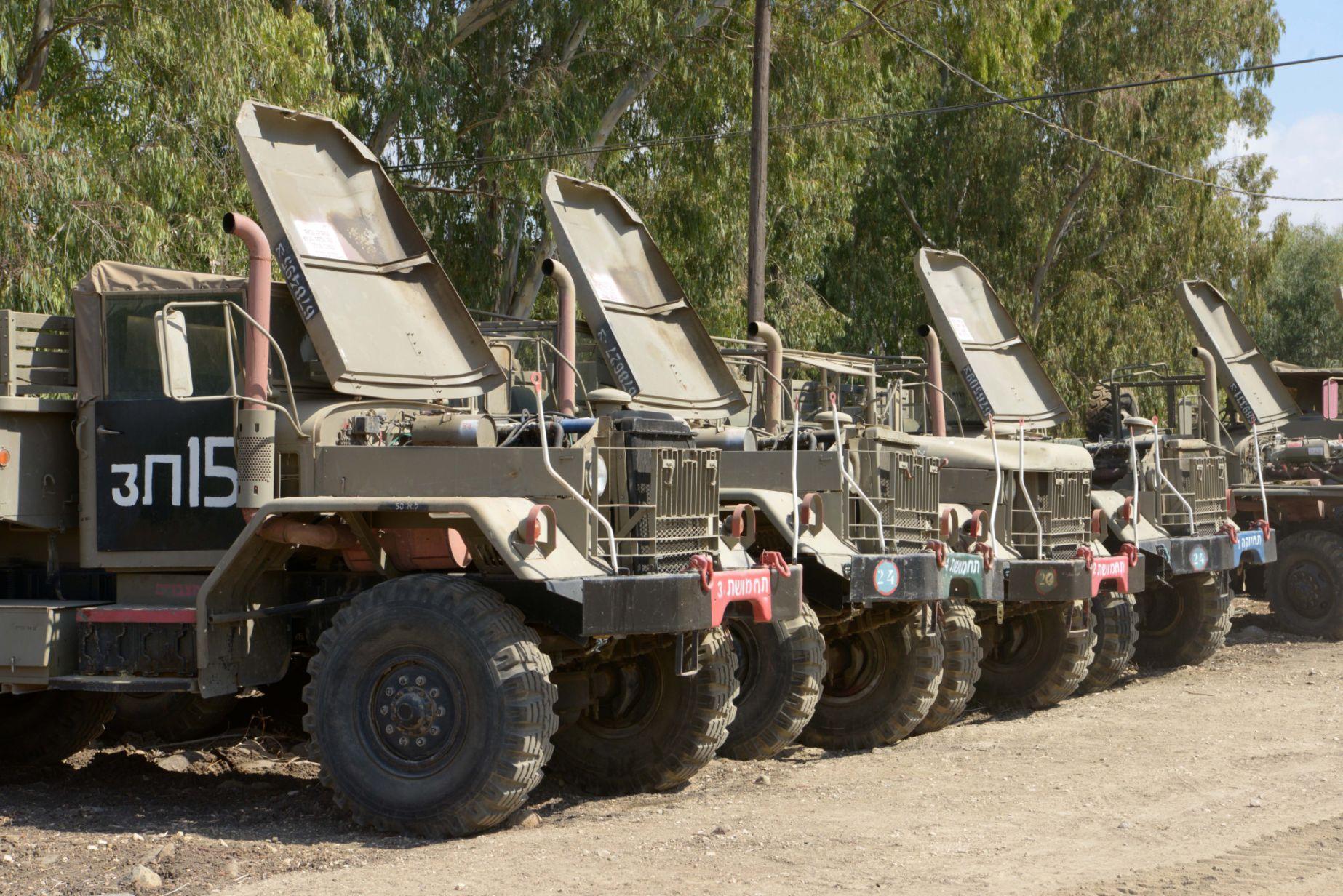 جيش الاحتلال يبدأ بترميم مخازن الطواري العسكرية