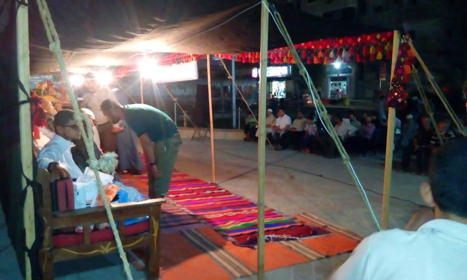 التجمع الثقافي ينظم الخيمة الرمضانية بالنصيرات