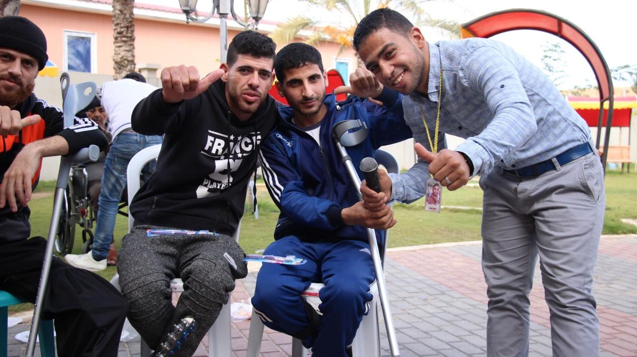 مستشفى الوفاء ينظم حفلًا فنيًا لذوي الإعاقة بغزة