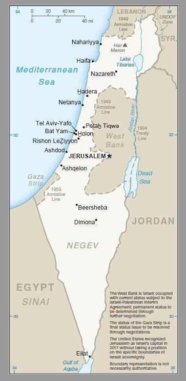 """غريبنلات ينشر """"خريطة جديدة لإسرائيل"""""""