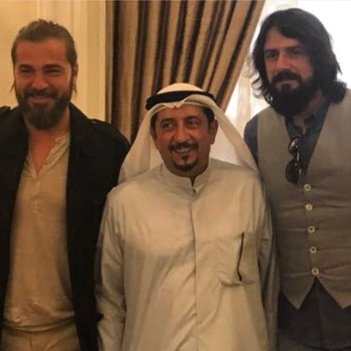 طاقم مسلسل أرطغرل يصل الكويت مع أردوغان