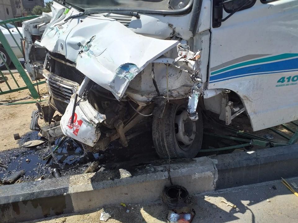 إصابات بحادث سير جنوب قطاع غزة