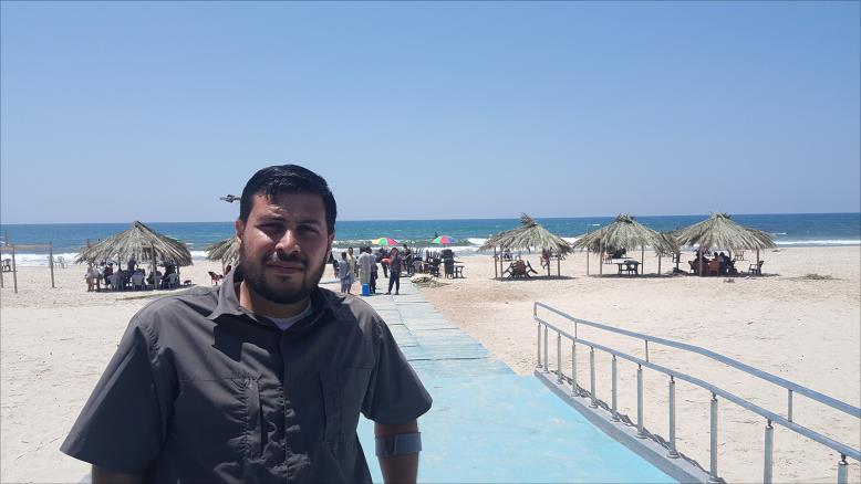 """""""استراحة سوا"""" بغزة.. الأولى فلسطينيا لذوي الإعاقة وضحايا الحروب"""