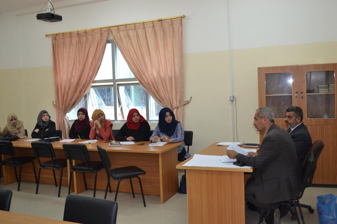 تربية الوسطى تعقد اجتماعاً بمدراء المراكز التعليمية
