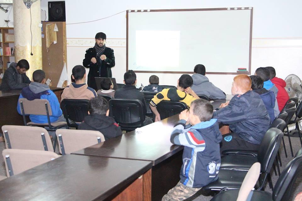 الكتلة تنظم محاضرة تربوية حول الوقت والدراسة بالبريج