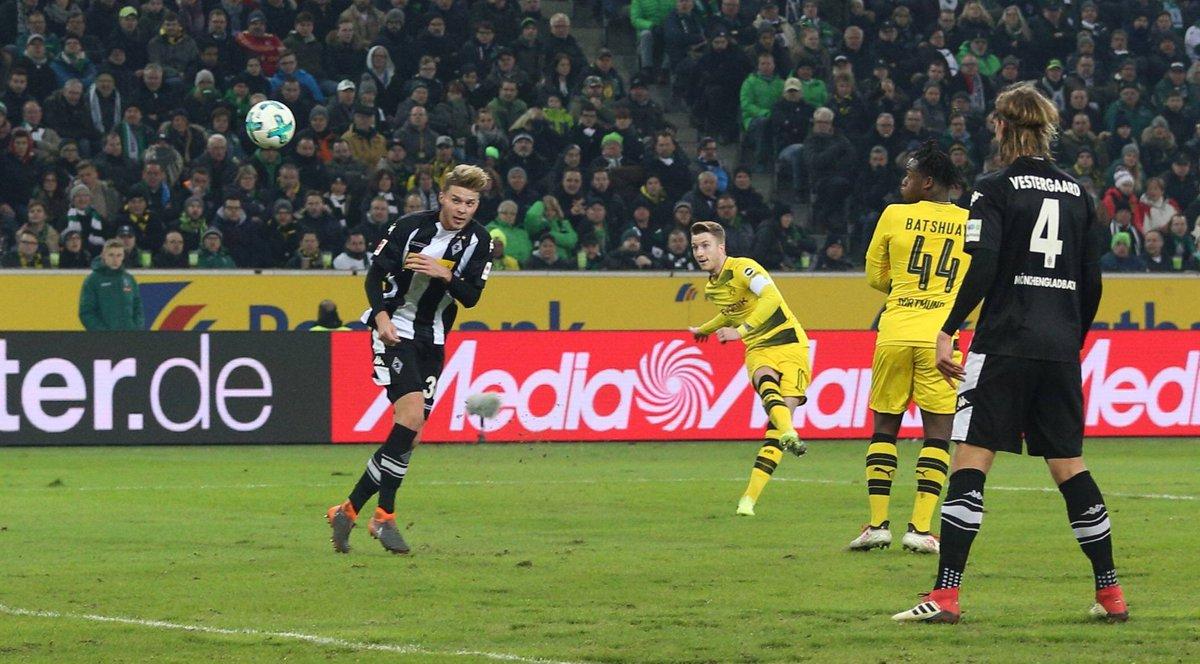 هدف رويس يقفز بدورتموند لوصافة الدوري الألماني