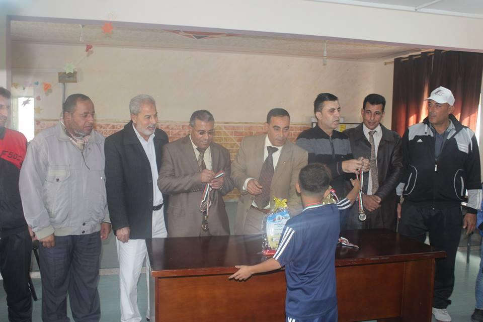 تربية شمال غزة تختتم بطولة الجمباز للمرحلة الأساسية الدنيا