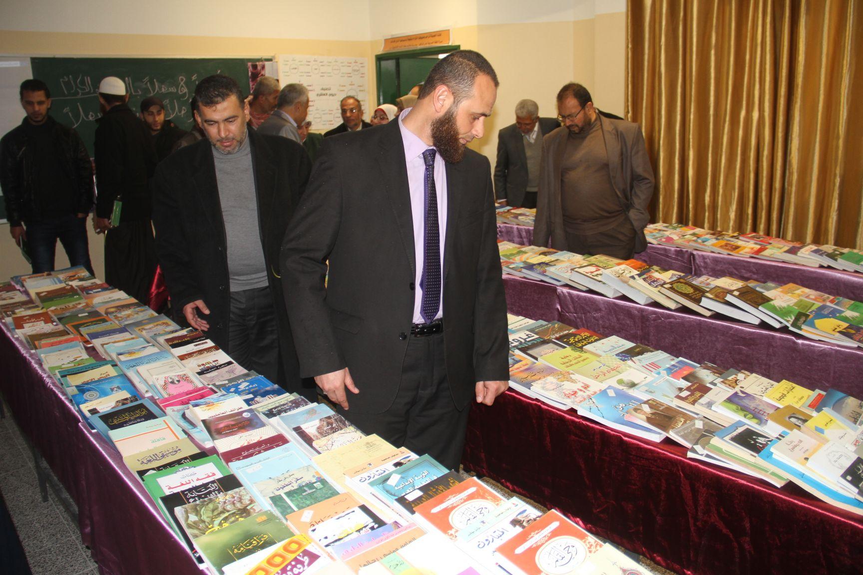 """""""الثقافة"""" تفتتح معرضاً للكتاب بمدرسة هاشم عطا الشوا للبنات"""