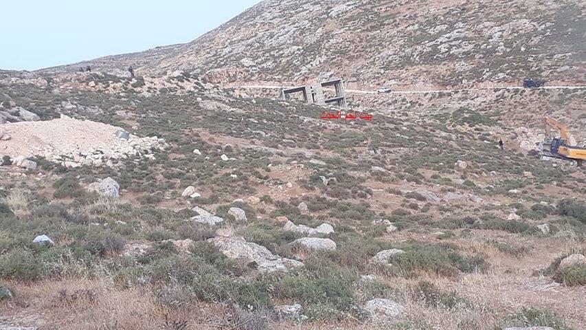 الاحتلال يهدم منزلا قيد الإنشاء جنوب شرق بيت لحم