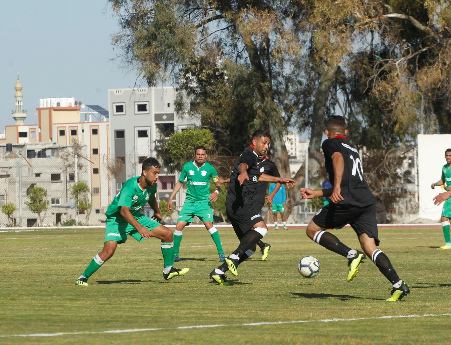 الشجاعية وخدمات رفح لنهائي كأس غزة
