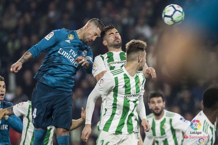 ريال مدريد يقلب الطاولة على ريال بيتس بخماسية